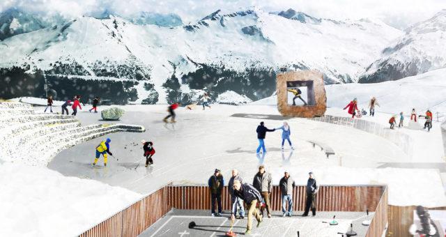 ALPINE ICE Pilotprojekt Gasteiner Bergbahnen Schlossalm